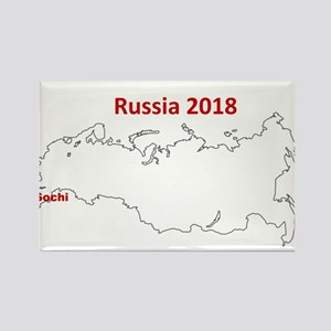Sochi, Russia 2018 Magnets