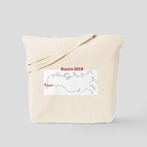 Sochi, Russia 2018 Tote Bag