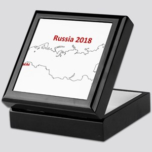 Sochi, Russia 2018 Keepsake Box