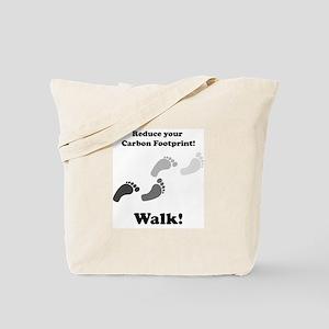 Carbon Footprint Tote Bag