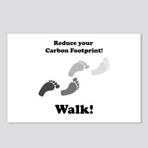 Carbon Footprint Postcards (Package of 8)