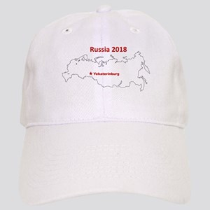 Yekaterinburg, Russia 2018 Baseball Cap