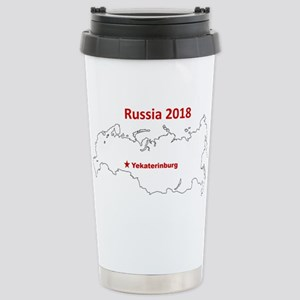 Yekaterinburg, Russia 2018 Travel Mug