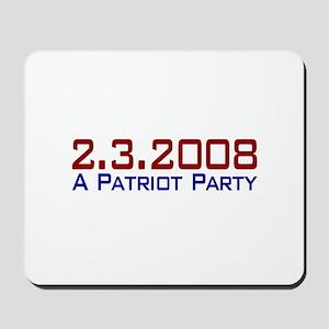 A Patriot Party Mousepad