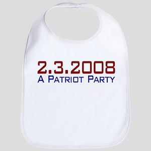 A Patriot Party Bib