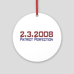 Patriot Perfection Ornament (Round)