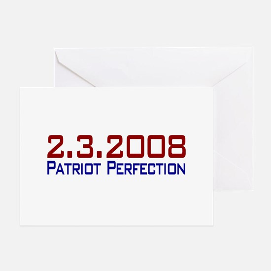 Patriot Perfection Greeting Card