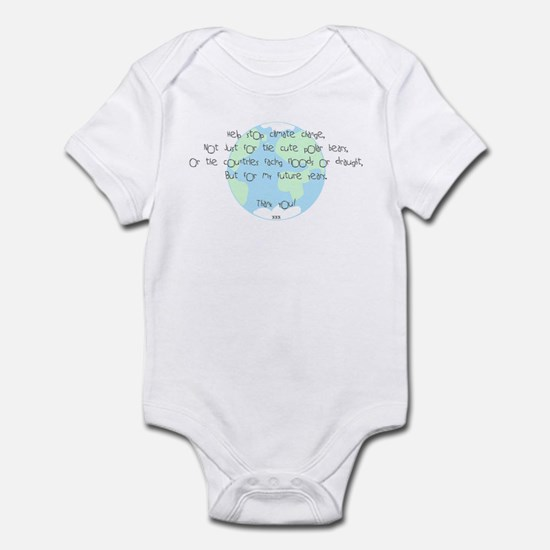 For My Future! Infant Bodysuit