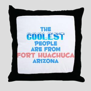 Coolest: Fort Huachuca, AZ Throw Pillow