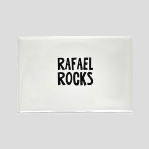Rafael Rocks Rectangle Magnet