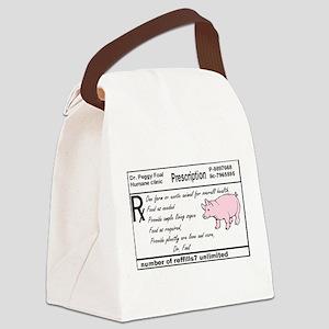 prescription for farm or exotic pet Canvas Lunch B