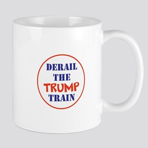 Derail the trump train Mugs