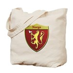 Norway Metallic Shield Tote Bag