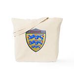 Denmark Metallic Shield Tote Bag