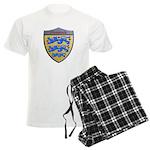Denmark Metallic Shield Pajamas