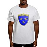 Sweden Metallic Shield T-Shirt