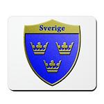 Sweden Metallic Shield Mousepad