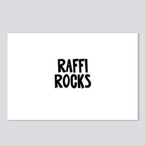 Raffi Rocks Postcards (Package of 8)