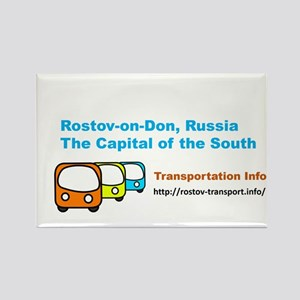 Transportaton, Rostov-on-Don, Russia Magnets