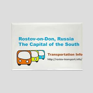 Transportaton, Rostov-on-Don, Russia Magnets