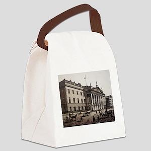 Antique GPO Dublin Canvas Lunch Bag