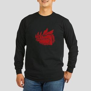 Grail - Black Knight Long Sleeve Dark T-Shirt