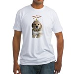 Blondes have more fun! Fitted T-Shirt