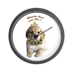Blondes have more fun! Wall Clock