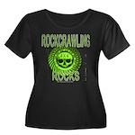 ROCKCRAWLING ROCKS Women's Plus Size Scoop Neck Da