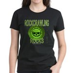 ROCKCRAWLING ROCKS Women's Dark T-Shirt