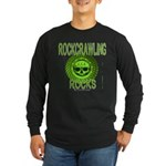 ROCKCRAWLING ROCKS Long Sleeve Dark T-Shirt
