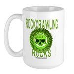 ROCKCRAWLING ROCKS Large Mug
