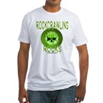 ROCKCRAWLING ROCKS Fitted T-Shirt