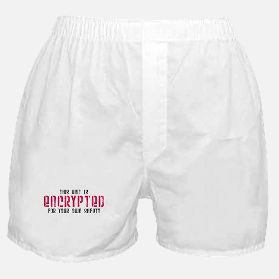 This Unit is Encrypted Boxer Shorts