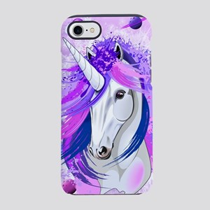 Unicorn Spirit Pink and Purple Mythical Creature i