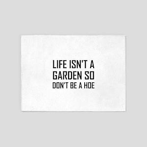 Life Garden Hoe 5'x7'Area Rug