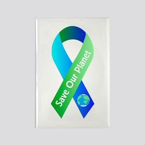 Save Our Planet Rectangle Magnet
