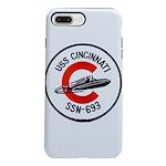 USS CINCINNATI iPhone 8/7 Plus Tough Case