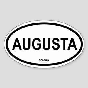 Augusta Oval Sticker
