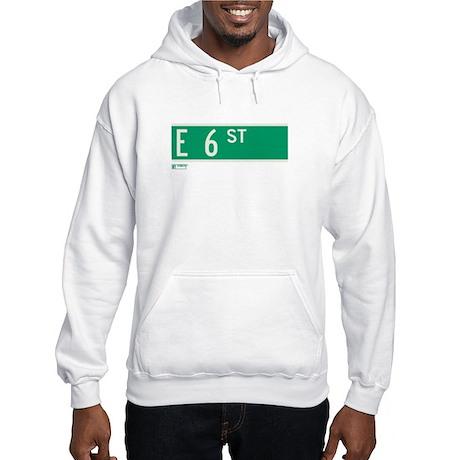 6th Street in NY Hooded Sweatshirt