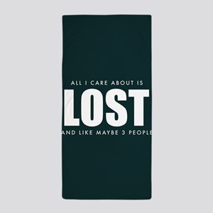 All I Care About Is Lost Beach Towel