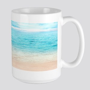 Beautiful Beach Stainless Steel Travel Mugs