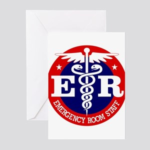ER Staff Greeting Cards