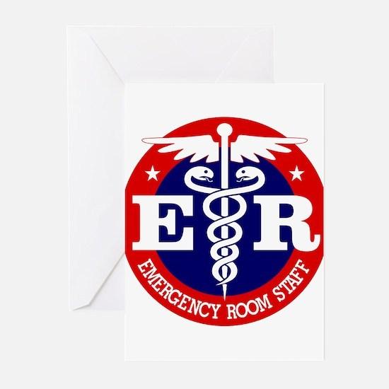 ER Staff Greeting Cards