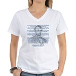 Gettysburg Address Women's V-Neck T-Shirt