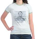 Gettysburg Address Jr. Ringer T-Shirt