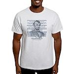 Gettysburg Address Light T-Shirt