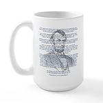 Gettysburg Address Large Mug