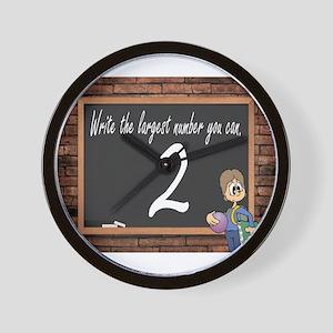 SCHOOL TEST Wall Clock