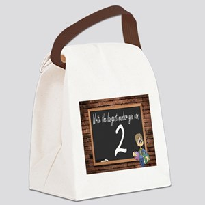SCHOOL TEST Canvas Lunch Bag